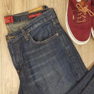 Lucky Brand Straight Jeans sz 34 x 32